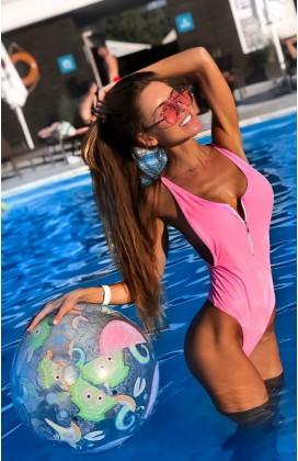 Слитный купальник Fresh Pink